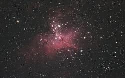 へび座M16星雲創造の柱