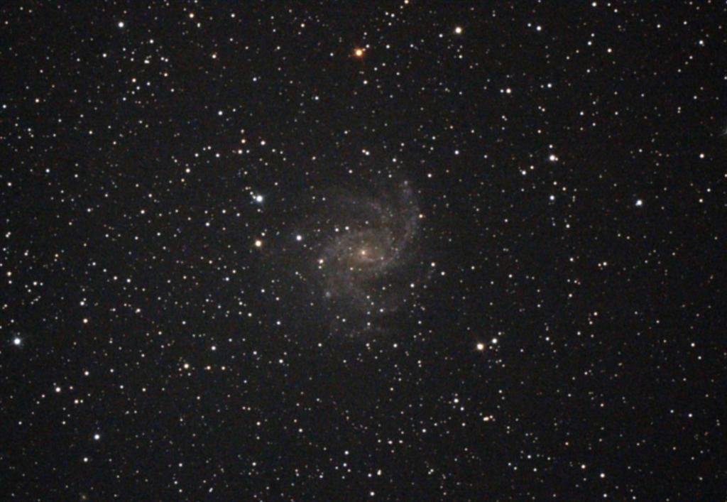 ケフェウス座NGC6946銀河