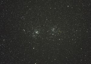 ペルセウス座二重星団