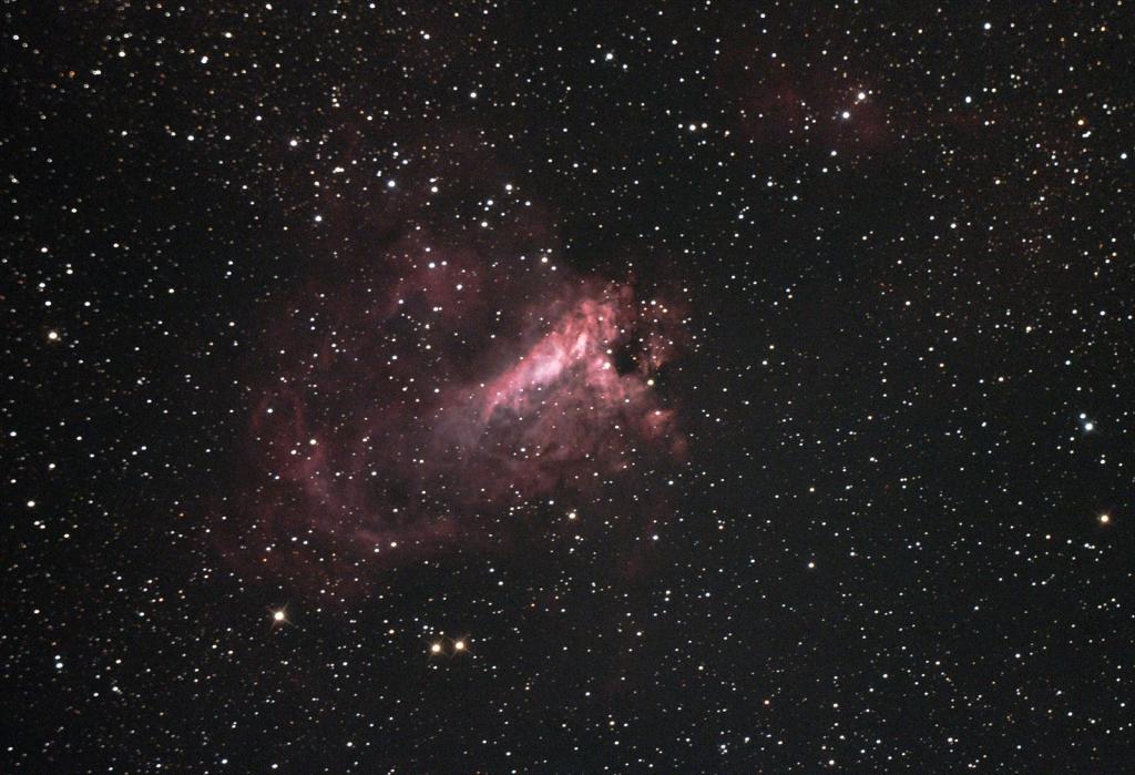 いて座白鳥星雲M17