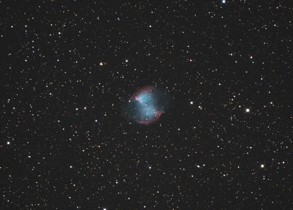 こぎつね座亜鈴状星雲M27