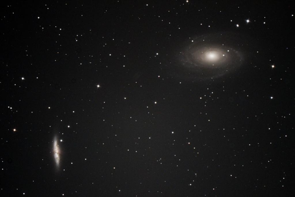 おおぐま座M81M82銀河