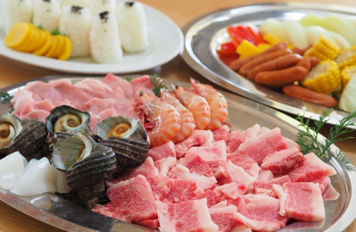 BBQ★オリーブ牛コース
